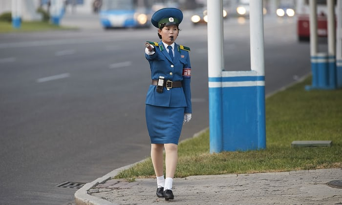 North-Korean-Traffic-Police