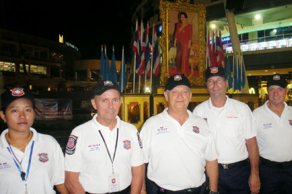 Thailand-Tourist-Police-Group