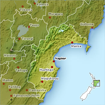 Napier New Zealand Map.7 Reasons To Visit Hawke S Bay New Zealand