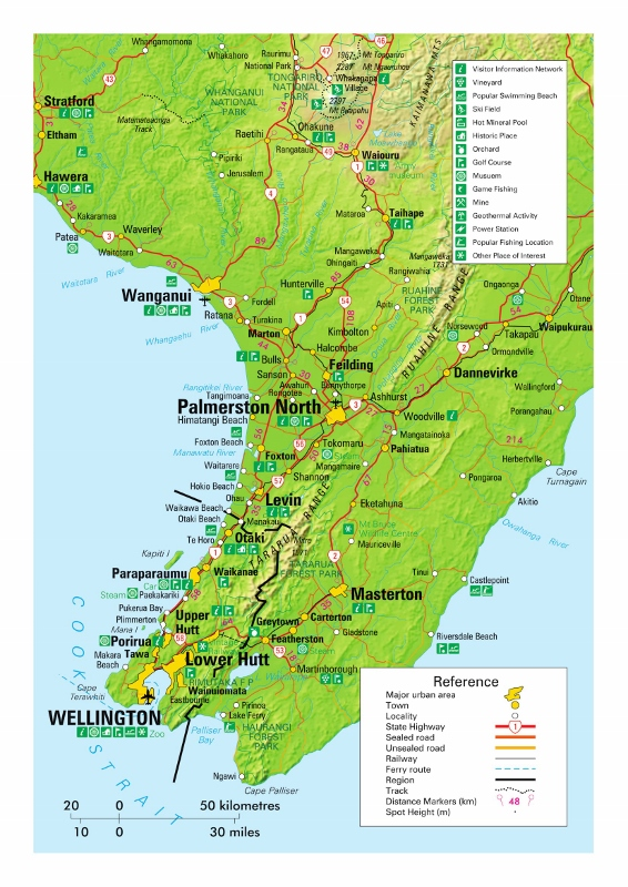 Wellington-Map