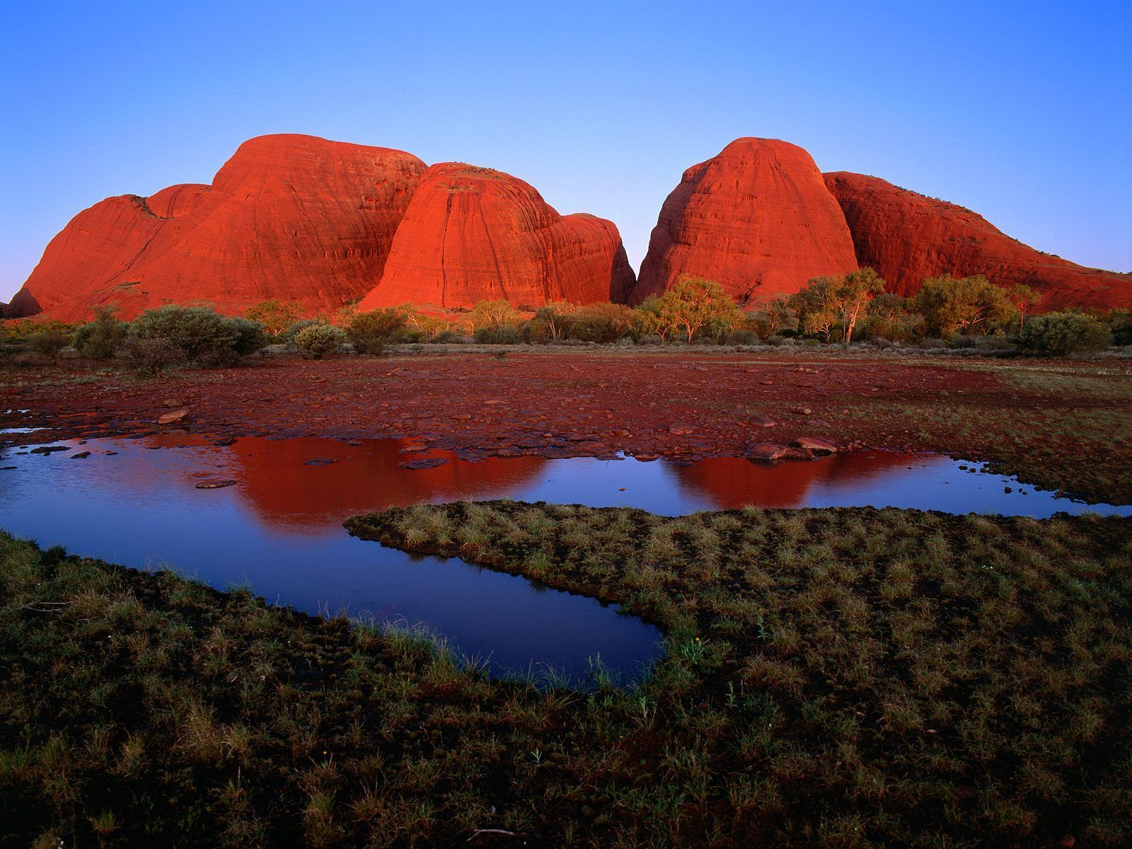 Kata_Tjuta_The_Olgas_at_Sunset_UluruKata_Tjuta_National_Park_Australia
